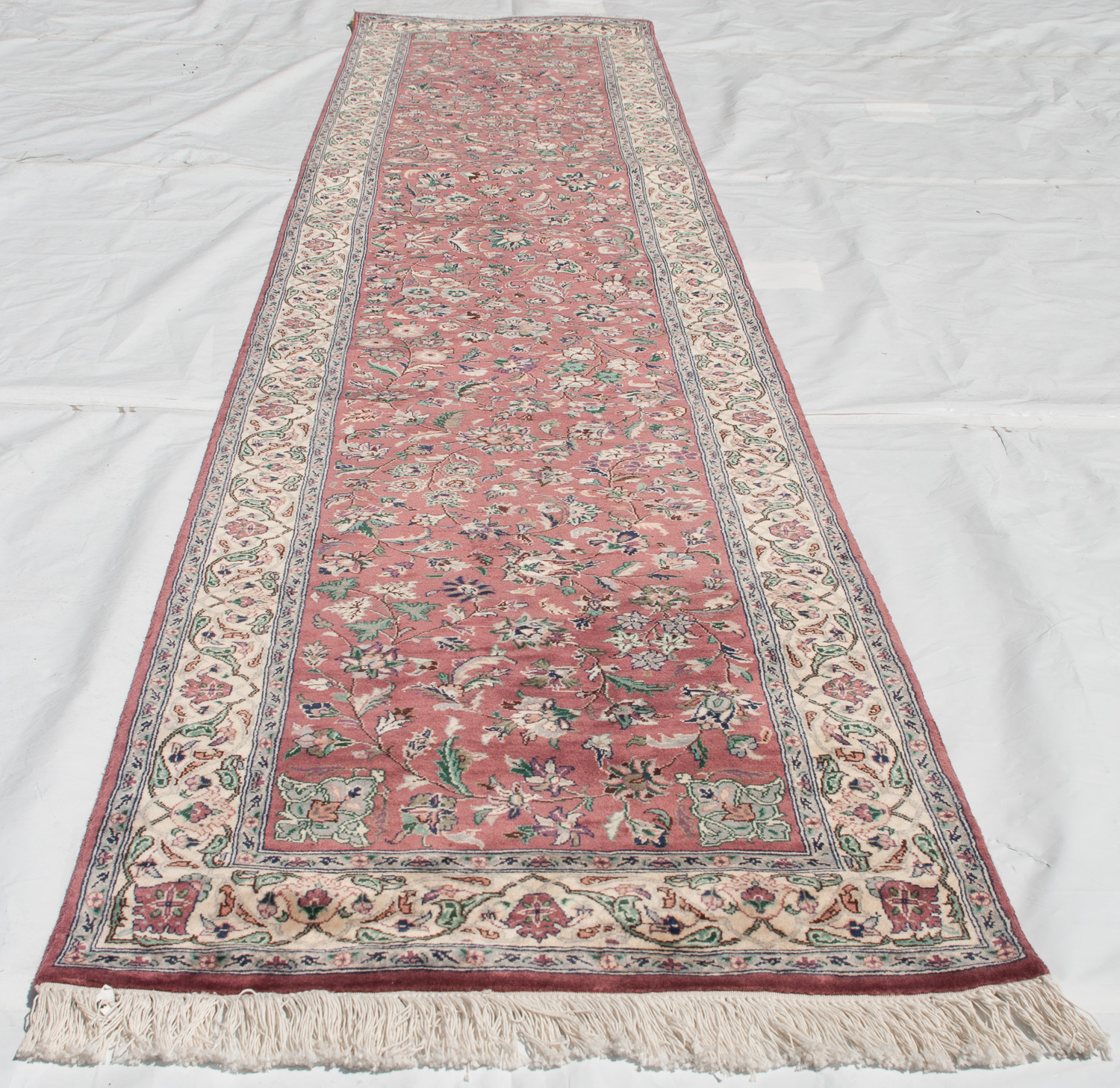 RRA 2x13 Carpet Runner Pak Persian Isfahan Design Rose